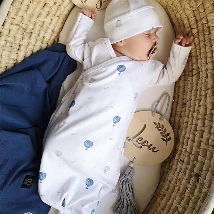 Välkommen hem paket nyfödd, blå - Elliotti.se