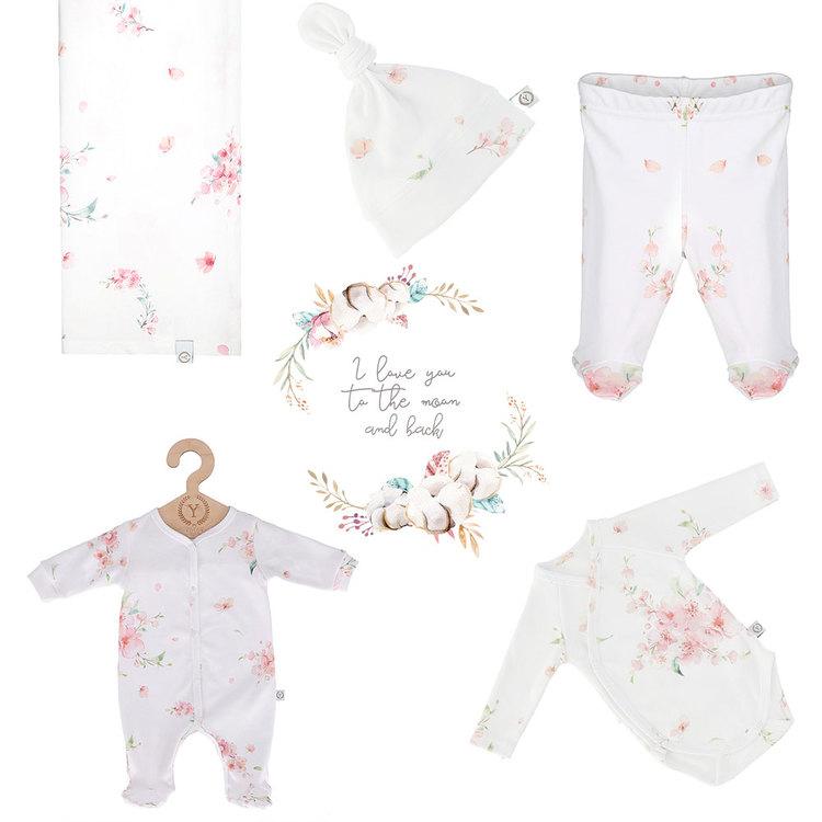 Nyfödd klädpaket Lyx, Japanese Flowers: 62