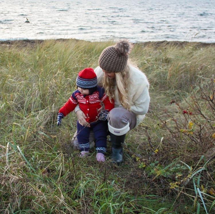 Marius Kids byxor i bambu, Navy - Elliotti.se
