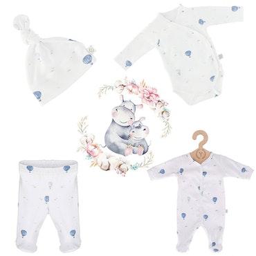 Nyfödd klädpaket, Blue Balloons