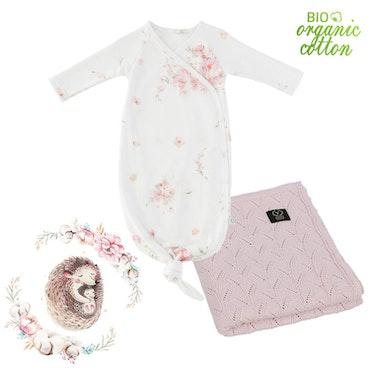 Välkommen hem paket nyfödd, Rosa