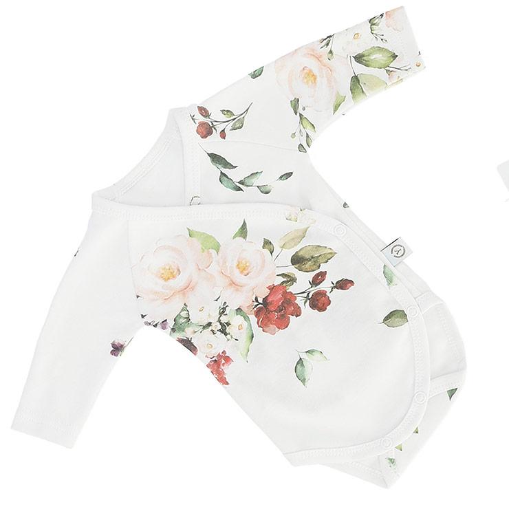 Nyfödd klädpaket Lyx, Vintage Roses