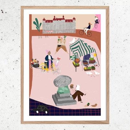 Poster Möllevångstorget