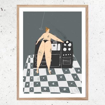 Poster Singelfrukost