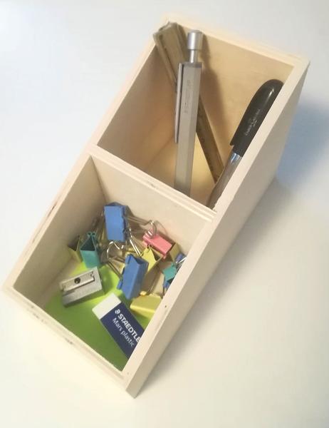 Displaylåda, B: 10 cm, H: 12 (4) cm, plywood, 1st., djup 19,5 cm