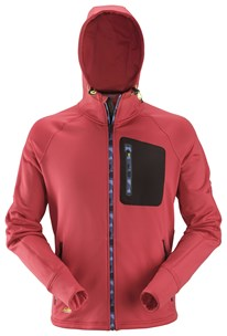 8000 FlexiWork, Fleecehoodie med stretch
