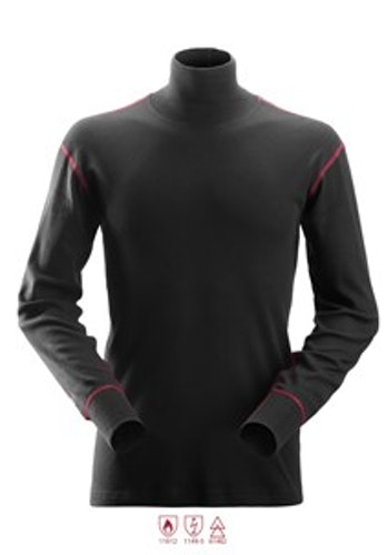 2462 ProtecWork, Långärmad t-shirt med turtle neck Klass 3