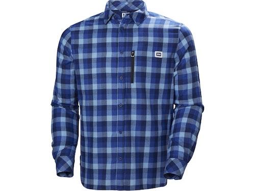 Helly Hansen M's Lokka LS Shirt Catalina Blue Plaid