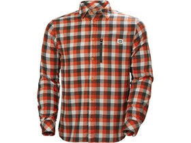Helly Hansen M's Lokka LS Shirt Cherry Tomato Plaid