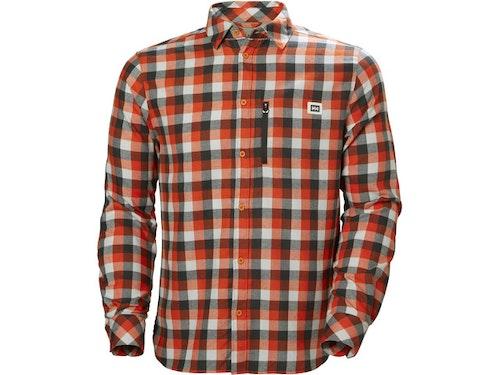 Helly Hansen M's Lokka LS Shirt Cherry Tomato Plaid