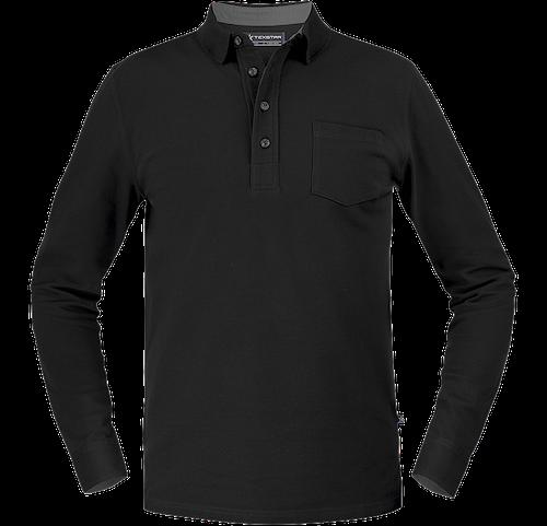 PS08 Stretch Pique Shirt Long Sleeve