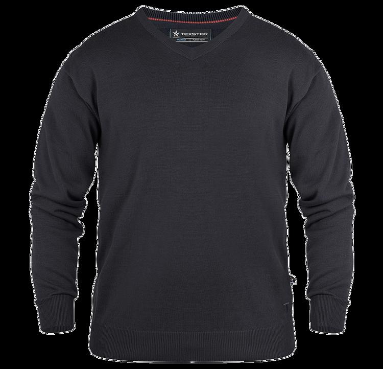 PL01 Pullover V-ringad TEXSTAR