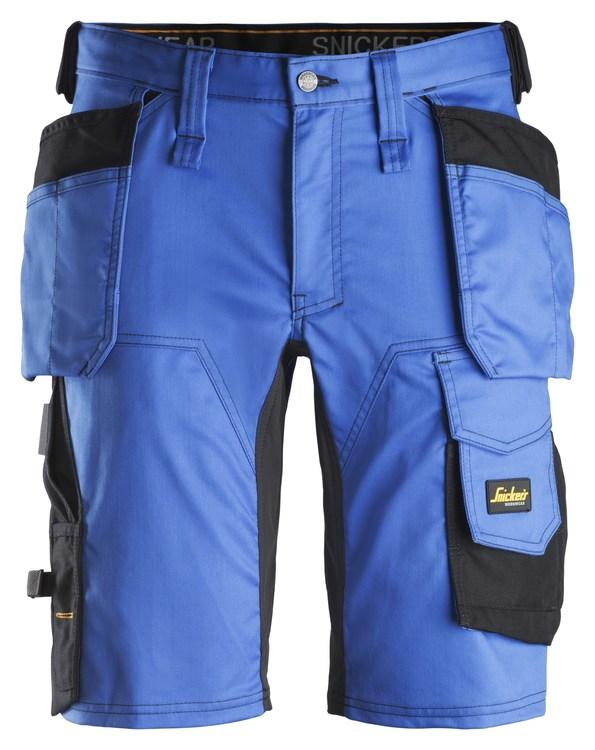 6141 AllroundWork, Stretch Shorts med Hölsterfickor, nyhet!