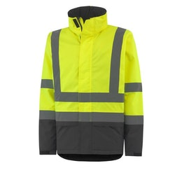 ALTA HI VIS CLASS 3 INSULATED JACKET, HELLY HANSEN WW