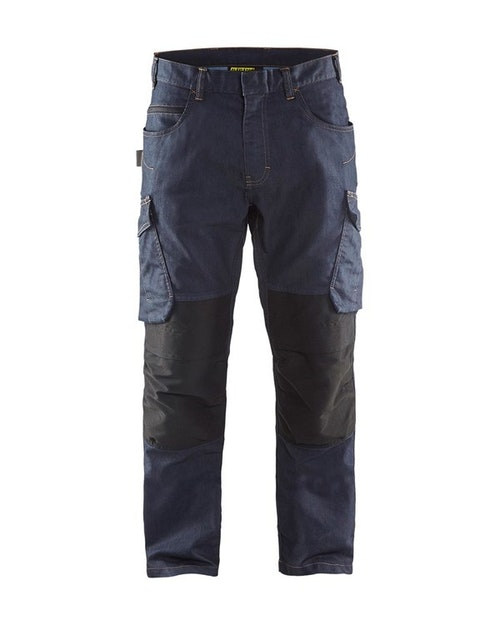 149711418999 SERVICEBYXA DENIM STRETCH, BLÅKLÄDER