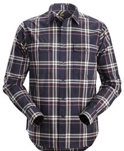 8502 RuffWork, rutig långärmad Flanellskjorta