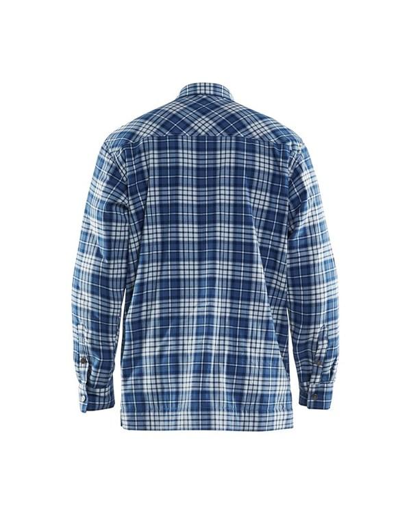 329011308589 Fodrad flanellskjorta, BLÅKLÄDER