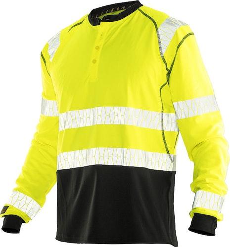 5598 Långärmad T-shirt UV-Pro Varsel, JOBMAN