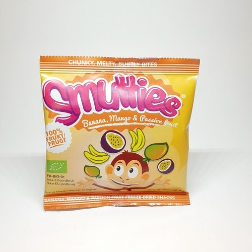 Smutties Banana, Mango & Passion fruit 100% frukt  6g