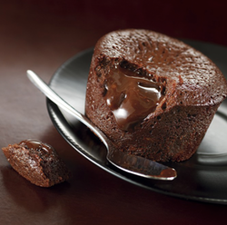 2 pieces Chocolat Fondant