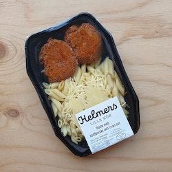 Pasta med köttfärssås och riven ost 300g