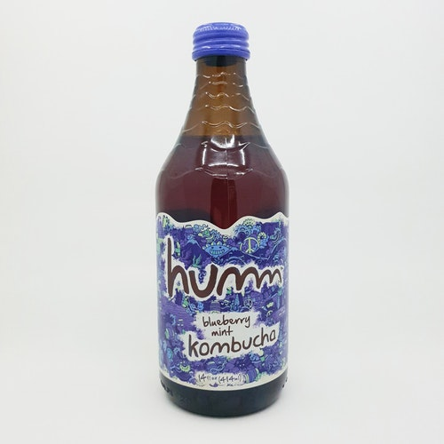 Humm Kombucha Blueberry Mint
