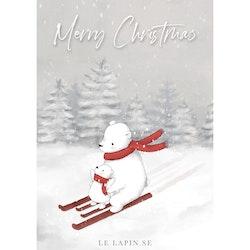 Let's ski - Merry Christmas