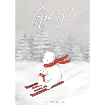 Let's ski - God Jul