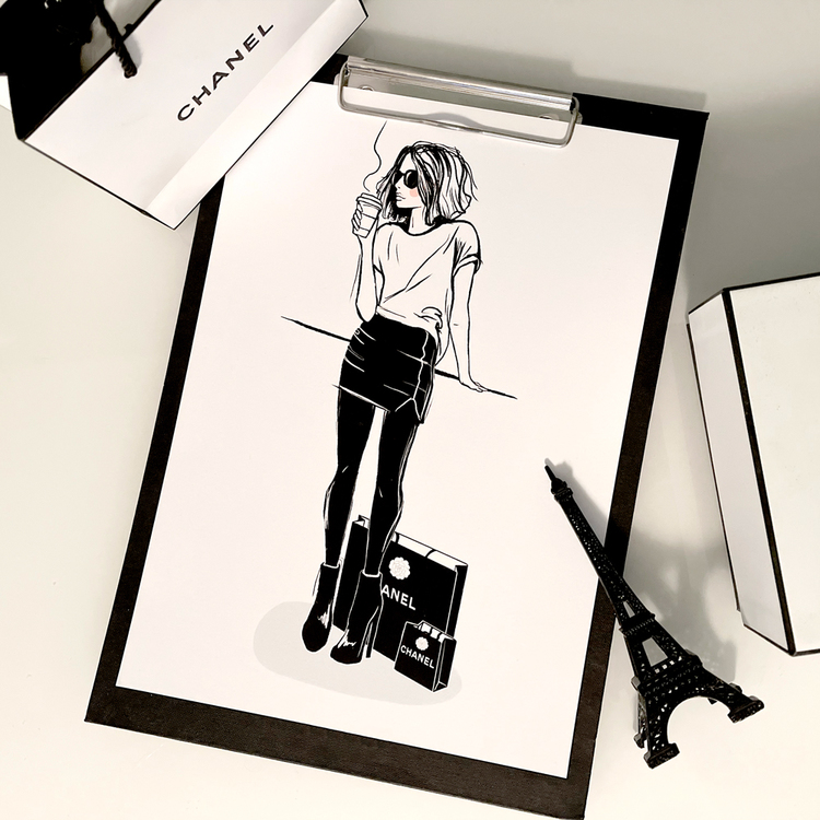 Chanel coffee break - A4
