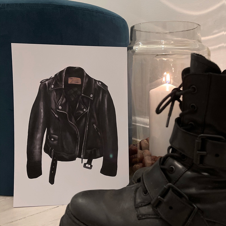 Leather jacket - A4