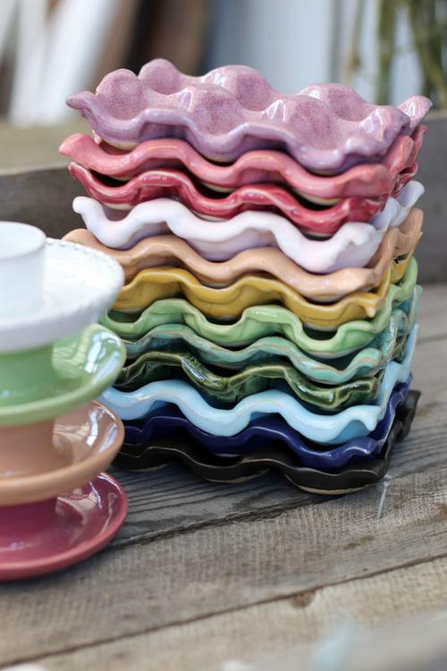 Äggfat 6-pack, många färger
