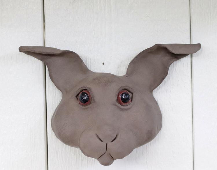 Kanin för vägg, flera färger