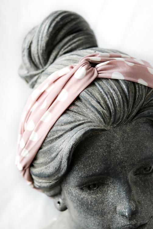 Poppy Hairband Light Pink