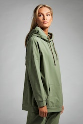 Oversized Hoodie - Olive