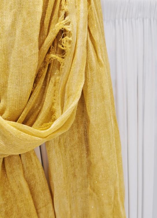 Iris Sjal - Mustard