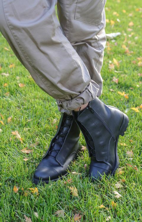 Jenny Hidden Laces Vegan Boots