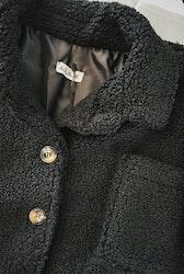 Teddy-Jacket Black