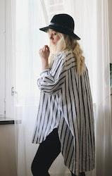 Randig Skjorta - Oversize