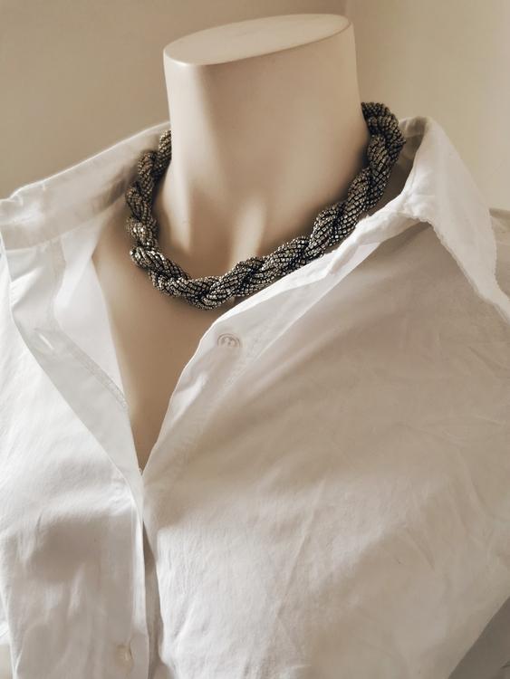 Halsband Lauren, Silver