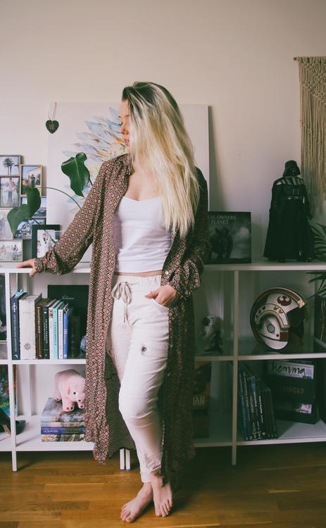 Skjortklänning Mönstrad - Celine