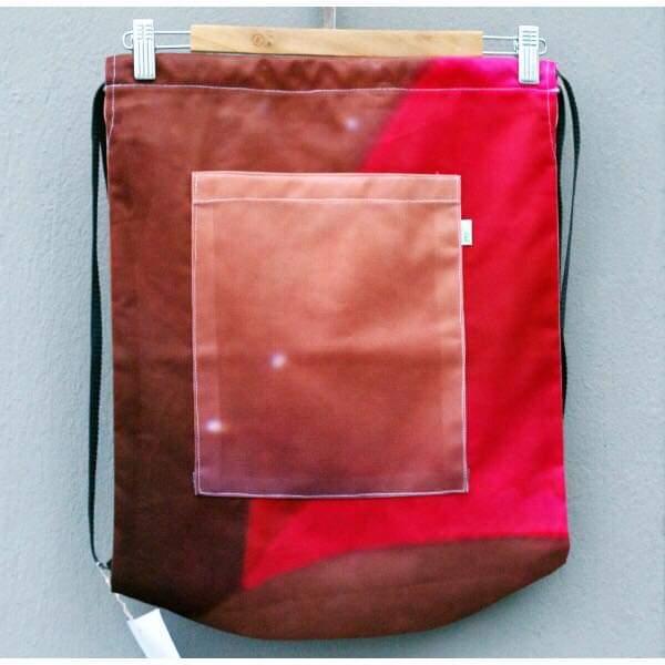 Ryggsäck av reklamvepa - röd