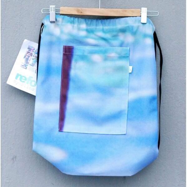 Ryggsäck av reklamvepa - blå