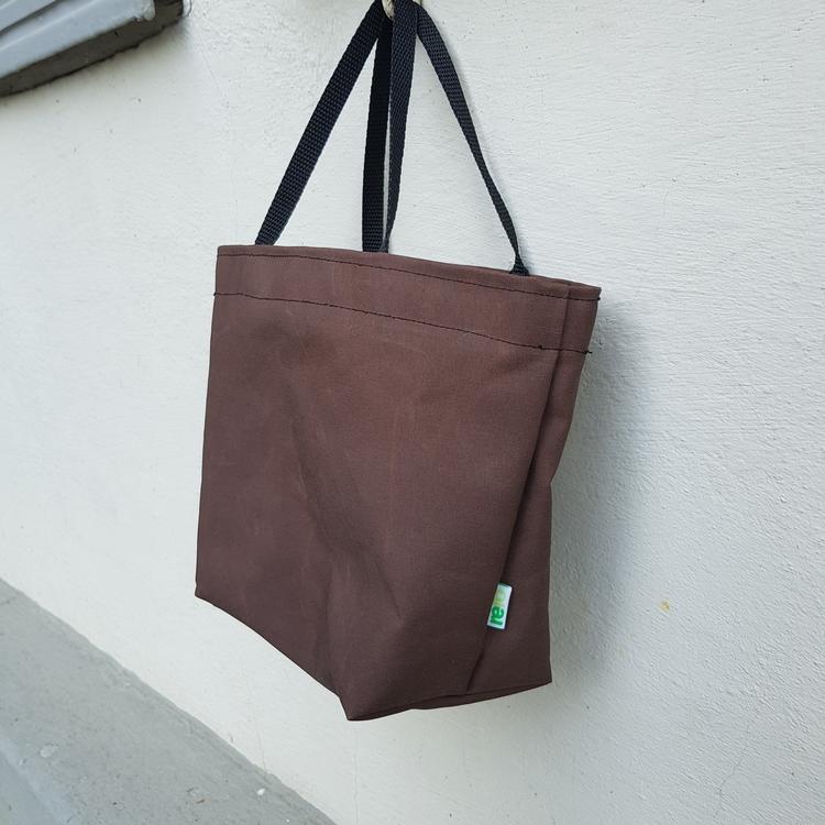 Matlådeväska/ Lunch Bag - brun (Mindre)