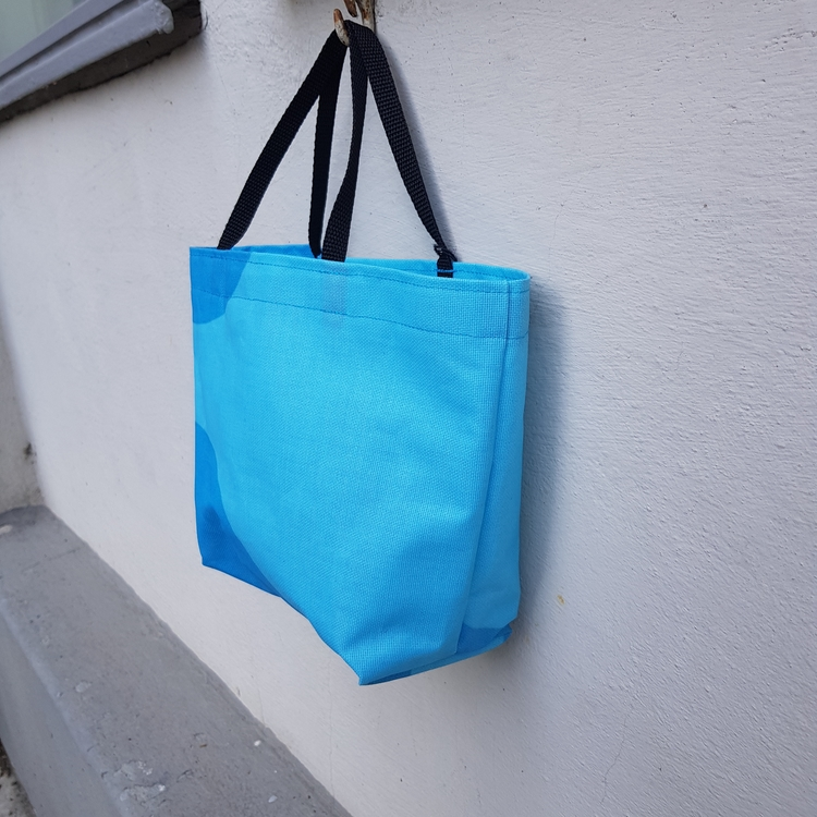 Matlådeväska/ Lunch Bag - turkosblå (Mindre)