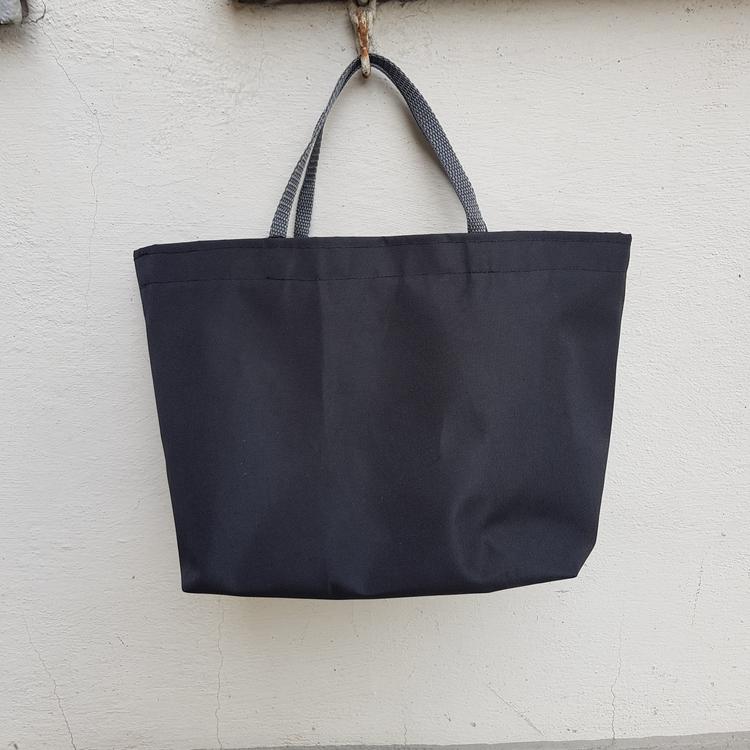 Matlådeväska/ Lunch Bag - Svart (Större)