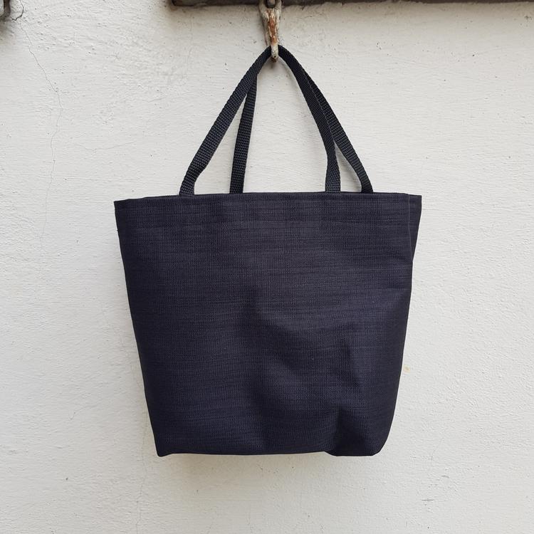Matlådeväska/Lunch Bag - (Mindre) svart struktur