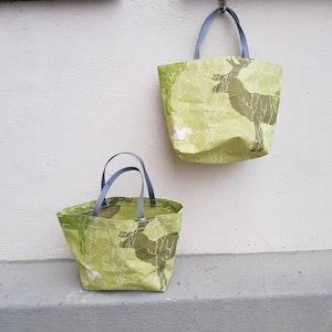 Matlådeväska /lunch bag (mindre) - grön skogstema