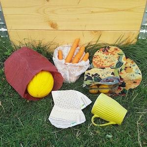 Stora paketet för klimatsmart vardag - för osten, för matförvaring, klimatsmarta kaffefilter och för handlingen