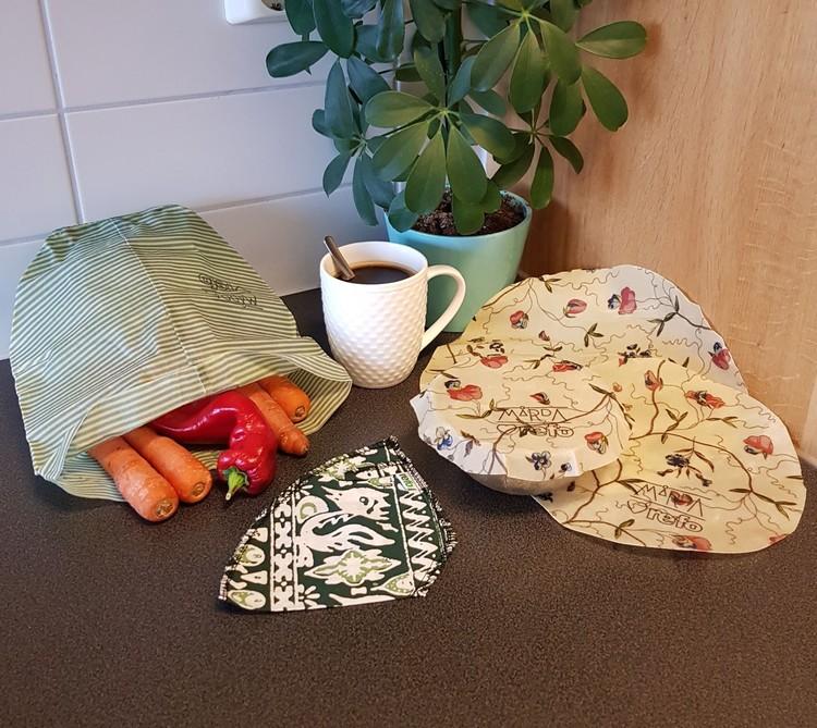 Startkit klimatsmarta köket - för osten, för matförvaring, återanvändningsbart kaffefilter