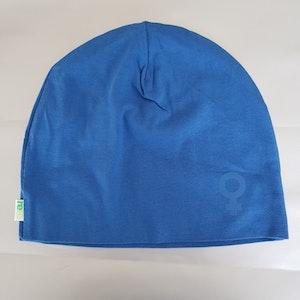 Beanie / Mössa ♀️ Blå, Storlek S